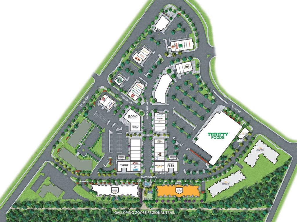 My Belmont - Site Plan Rendering