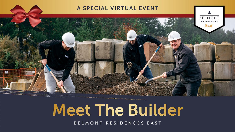 Meet the builder - virtual event